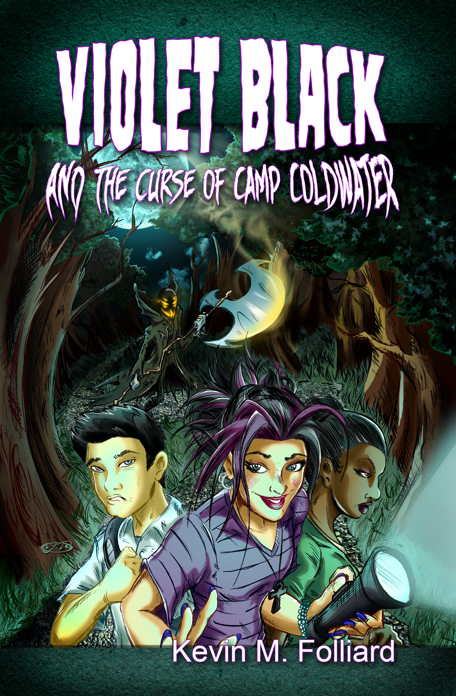 Violet Black and the Curse of Camp Coldwater
